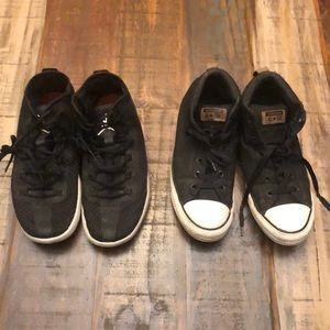 Jordan and Converse Shoes size 11
